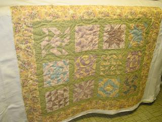 Floral Sampler Quilt