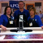 Booth at the Hampton Quilt Show
