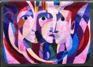faces quilt