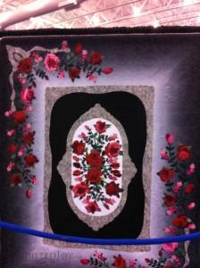 Antique roses quilt