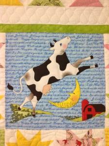 Nursery Rhyme panel quilt