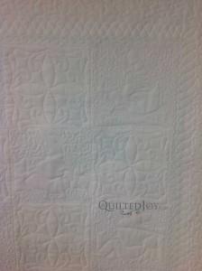 Nursery back quilt