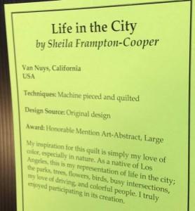 Life in the City Description