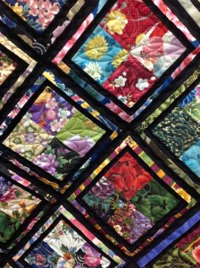 oriental four patch quilt