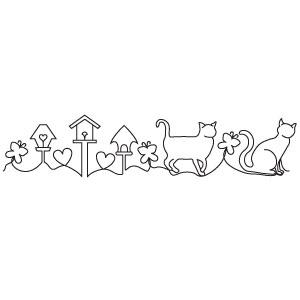 Cat Parade Pantograph Intelliquilter APQS