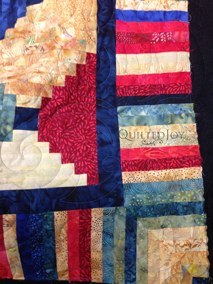 Courthouse Steps Quilt Top