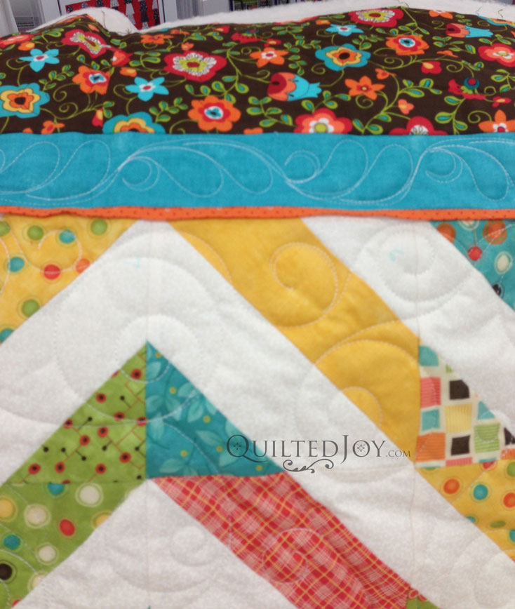 Border long arm quilting