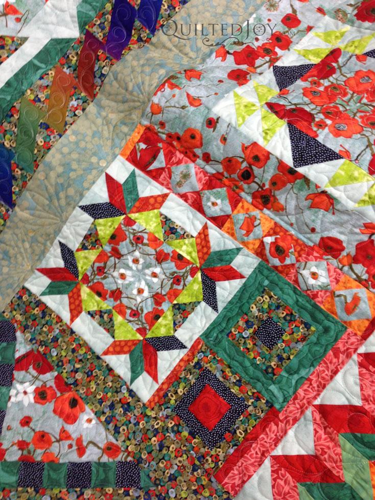 long arm sampler quilt