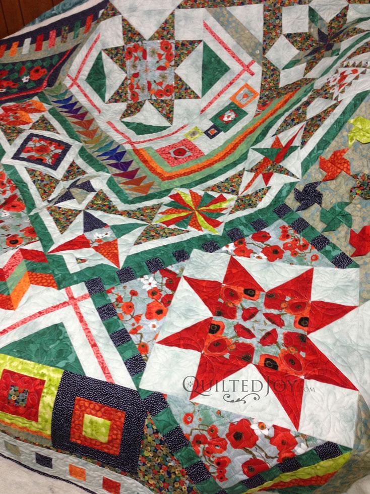 mystery quilt sampler