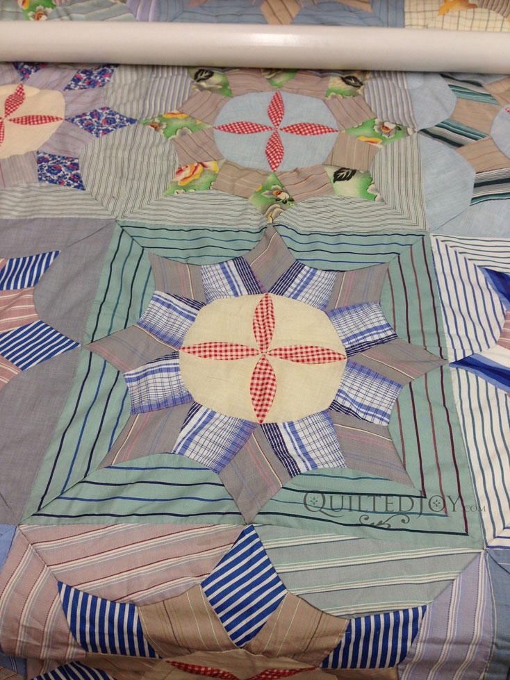Shirtings Quilt longarm