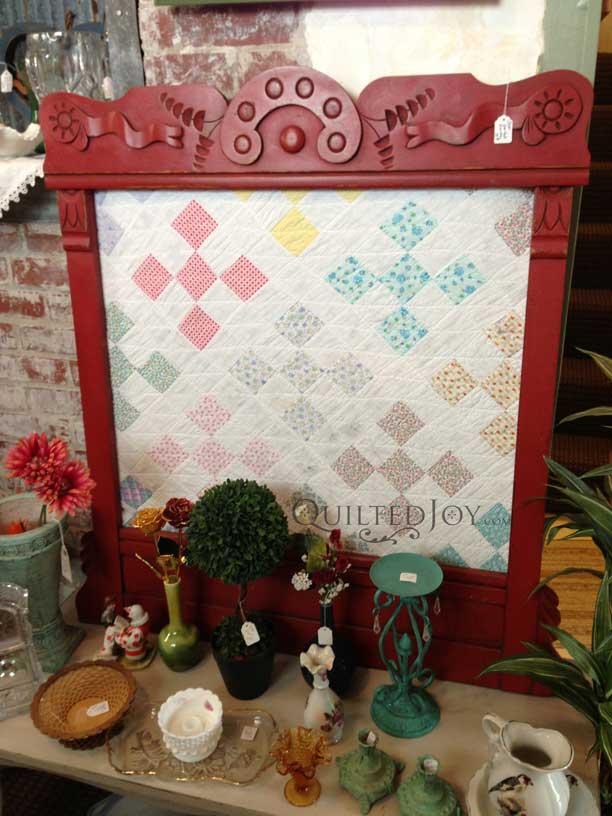 Vintage Quilt Frame