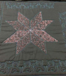 Sew Easy Background Fillers - Hands on Longarm Class taught by Angela Huffman