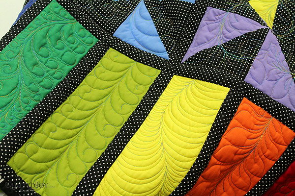 Feather Quilt1