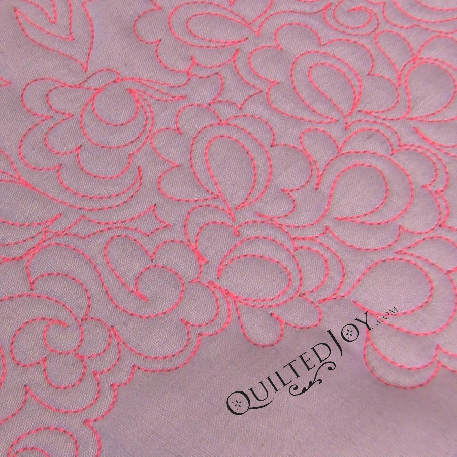 Variations on Daisy Fillers video tutorial for longarm quilting