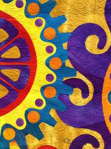Delightful Spirals, Robbi Joy Eklow at AQS Lancaster