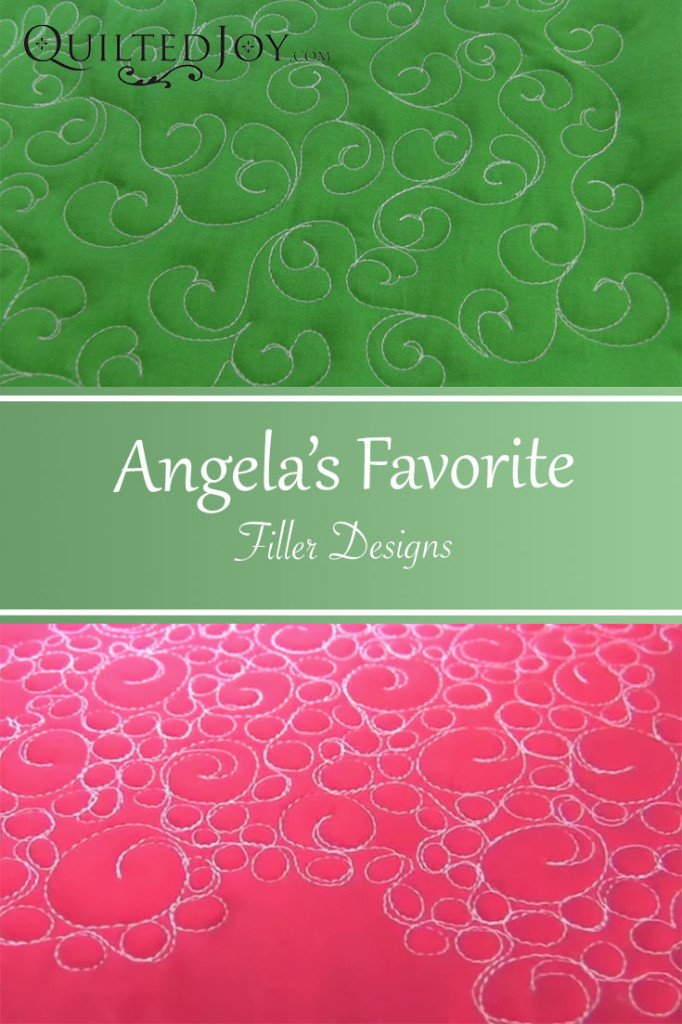Angela from Quilted Joy shares five of her favorite filler designs, along with video instructions!
