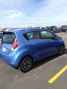 I love renting tiny cars while I'm traveling!