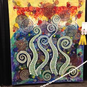 Fern Rising by Claudia Pfeil, at AQS Quilt Week Paducah 2015