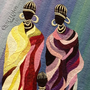 Poor and Rich by Janneke de Vries-Bodzinga, at AQS Quilt Week Paducah 2015