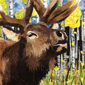 When the Aspens Turn by Cindy Seitz-Krug at AQS Quilt Week Paducah 2015