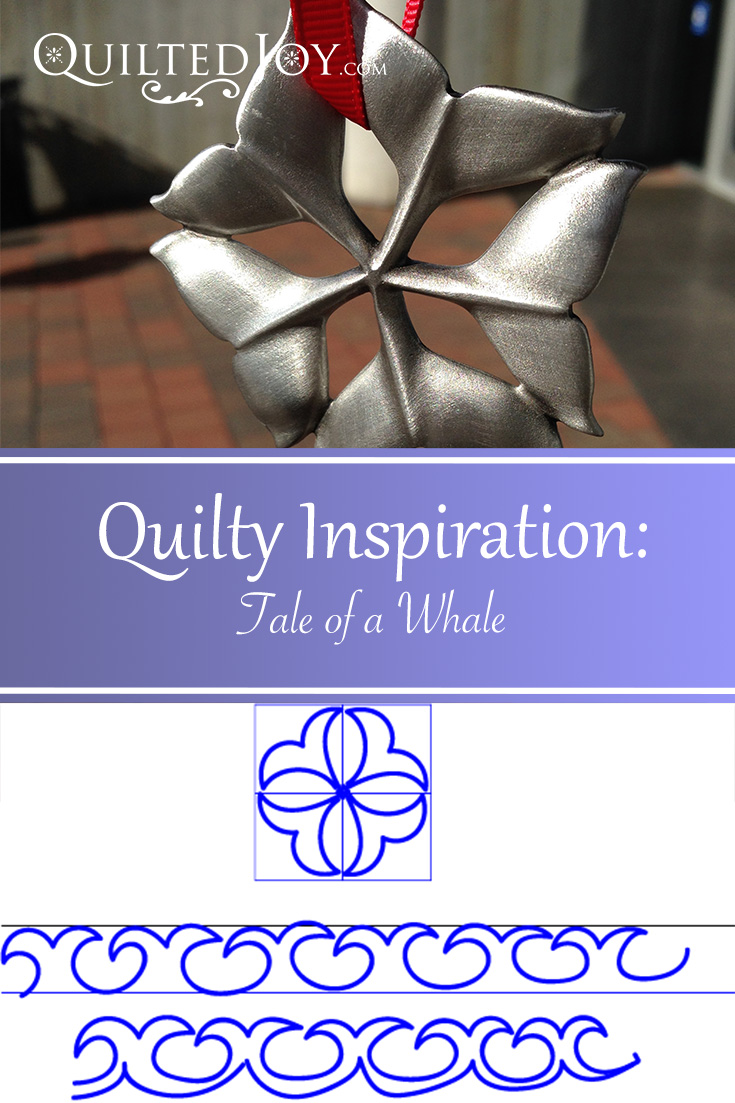 Quilty Inspirations - A Tale of a Whale from QuiltedJoy.com