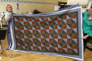 Mary quilted this at Quilted Joy
