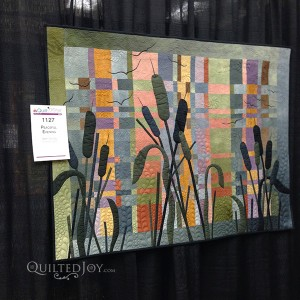 Peaceful Evening by Beth Schillig at AQS Quilt Week Paducah 2015
