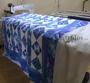 Tahiti Quilt, quilted by Angela Huffman