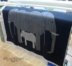Colleen's Elephant Wall Hanging