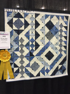 A Long Way From Home by Amy Pabst at QuiltWeek Grand Rapids 2015