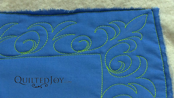 Curl and a Kick video tutorial by Angela Huffman - QuiltedJoy.com