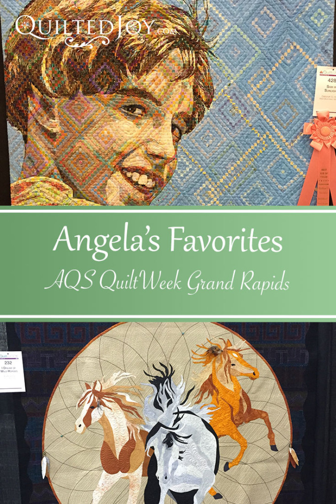 Angela's Favorite Quilts from AQS QuiltWeek Grand Rapids 2015