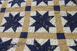 Lexington Stars with Lake Susan Pantograph - QuiltedJoy.com