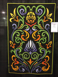 Music of the Night by Diane J. Evans at QuiltWeek Grand Rapids 2015