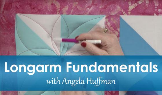 Longarm Fundamentals, an online class from Angela Huffman
