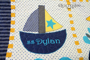 The SS Dylan, how adorable! - QuiltedJoy.com