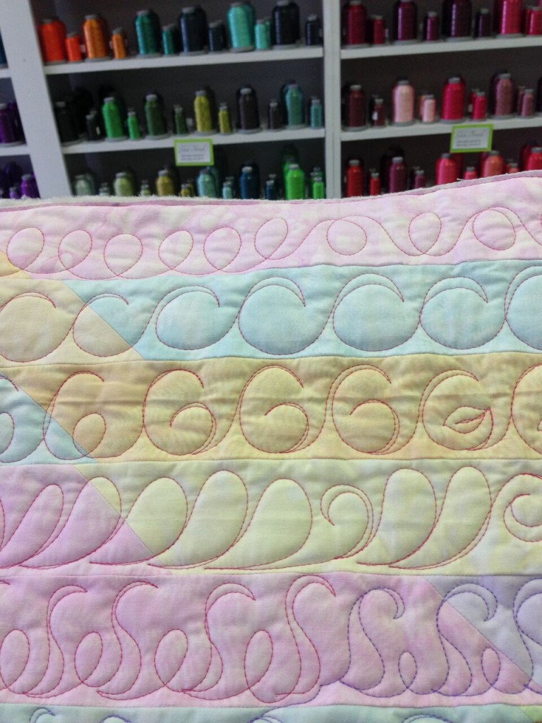 Read Angela's guest post on free motion quilting over at Fons & Porter's blog