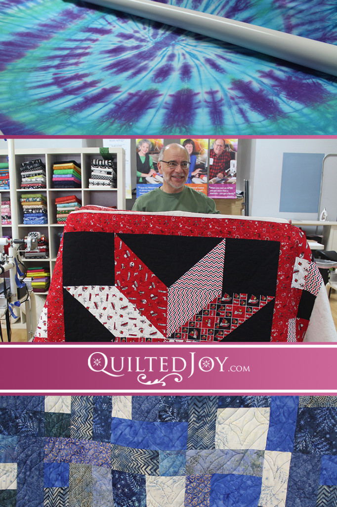 Quilters are a generous bunch and this group of Quilted Joy's longarm machine renters are no exception. See the beautiful quilts they're gifting away! QuiltedJoy.com