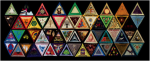 Section of the International Honor Quilt