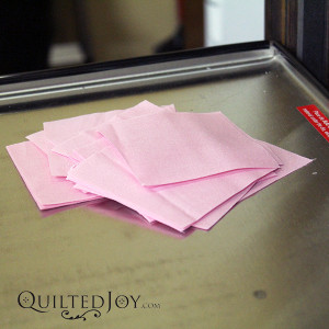 Rent Quilted Joy's AccuQuilt die cutter to cut the pieces for your next quilt faster! - QuiltedJoy.com