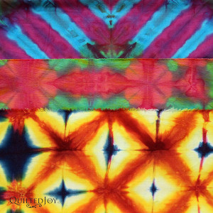 Learn the shibori technique from fiber artist Pat Sturtzel during the Dip, Dye, and Dabble Day Camp at Quilted Joy, January 21-23, 2016.