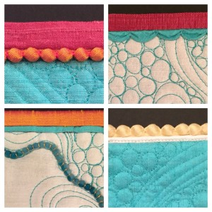 Details can separate a show quilt from an award winning quilt. Learn the techniques from Bethanne Nemesh in her The Devil is in the Details class