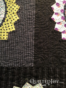 Mary Bauer's Opportunity Quilt. Mary quilted this with her APQS George sit down longarm machine.