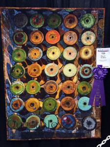 """End of the Spin"" by Melissa Sobotka. Best of Show at AQS Lancaster 2016"