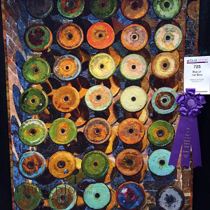 """""""End of the Spin"""" by Melissa Sobotka. Best of Show at AQS Lancaster 2016"""