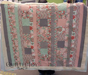 Angela B's cuddle care quilt.