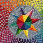 Color Flow by Brenda S. Roach at AQS Quilt Week Paducah 2016