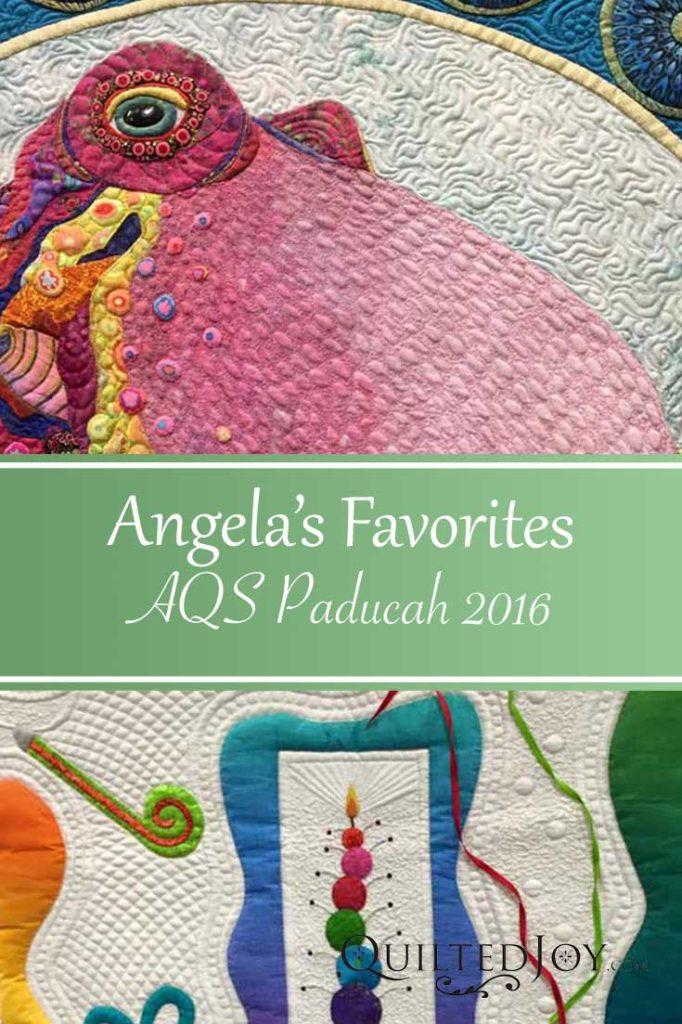Angela's Favorite Quilts from AQS Quilt Week Paducah 2016