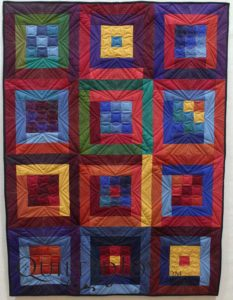Piecing by Amy Larimer, Blue Goose Quilt Company. Longarm Quilting by Angela Huffman, QuiltedJoy.com