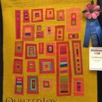 Las Ventanas by Kristin Shields at AQS Quilt Week Paducah 2016